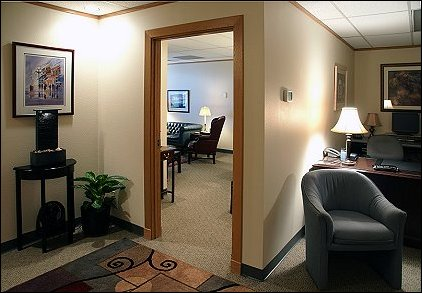 The entrance to Dr. Sterling's Counseling Office