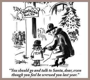 A little Christmas forgiveness.